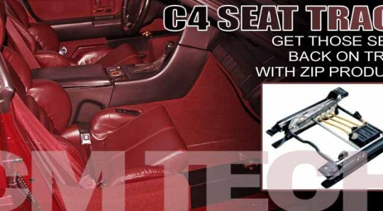 How to replace the Seat Tracks in a 1984-1996 C4 Corvette