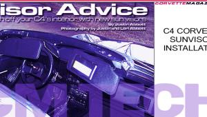 How to install 1984-1996 C4 Corvette Sunvisors