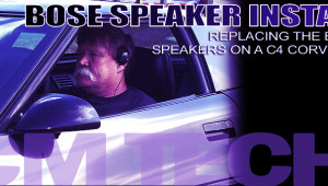How to install Bose Speakers on a 1990-1996 C4 Corvette