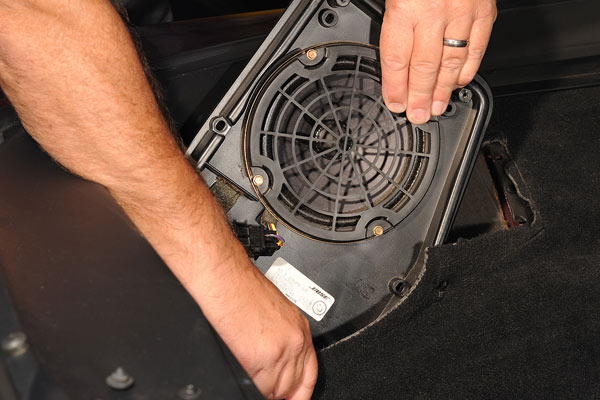 C4 Corvette Sound System Upgrade  Part 2 U2013the Bose