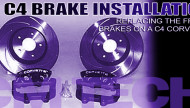 How to install C4 Corvette Brake Calipers