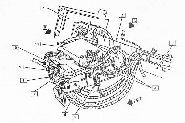 c4 corvette power antenna diagram  corvette  wiring