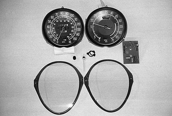 1968-1977 Corvette Speedometer & Tachometer Repair