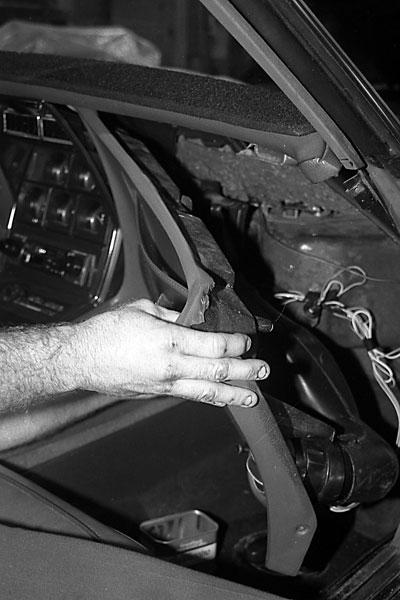 1982 Corvette Fuel Pump Removal