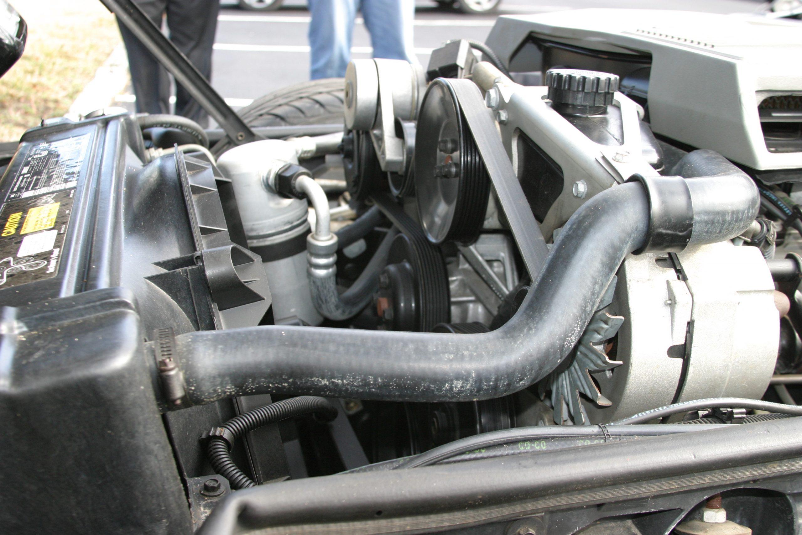 1984-1996 Corvette Serpentine Belt Repair