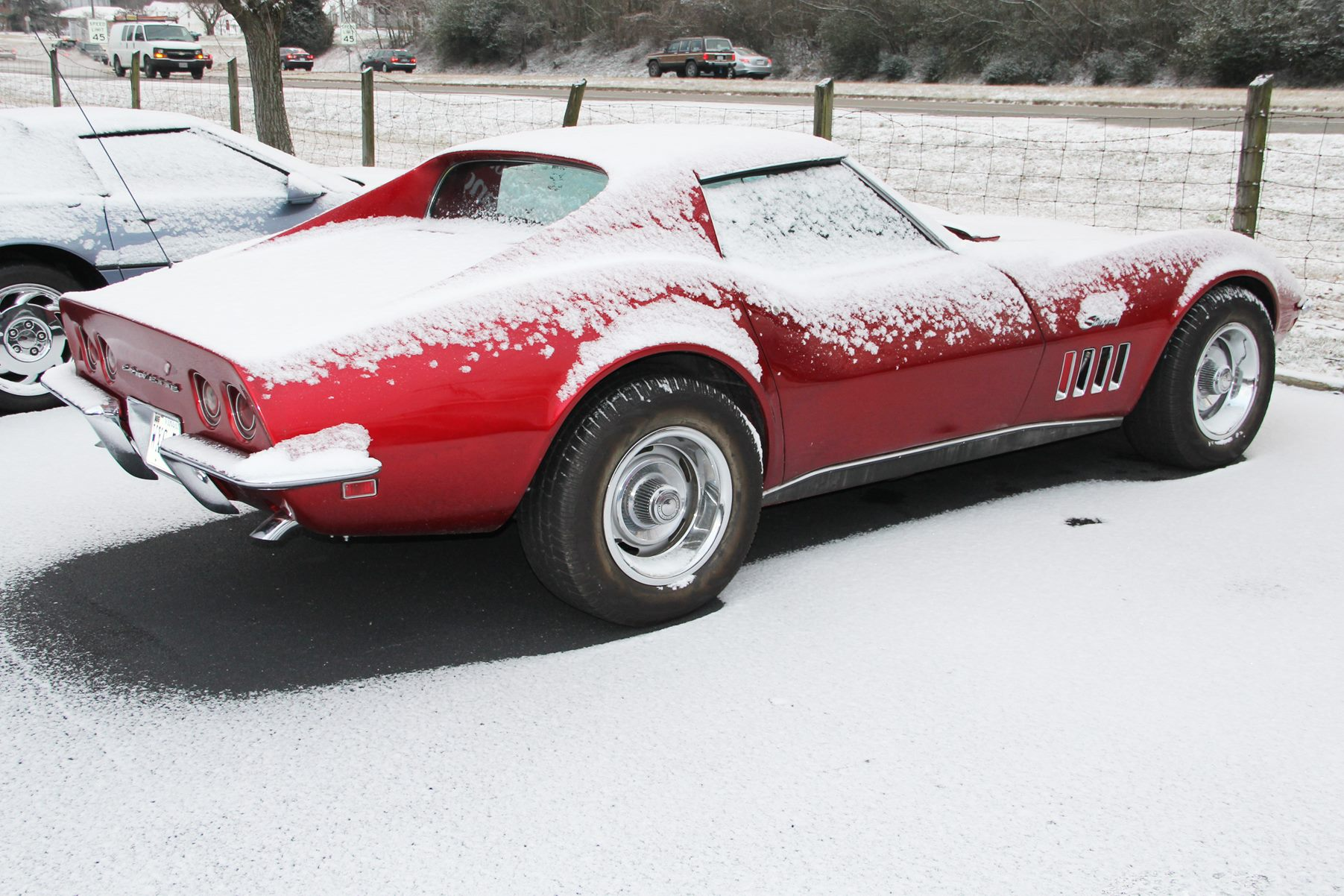 Storing Your Corvette for the Winter