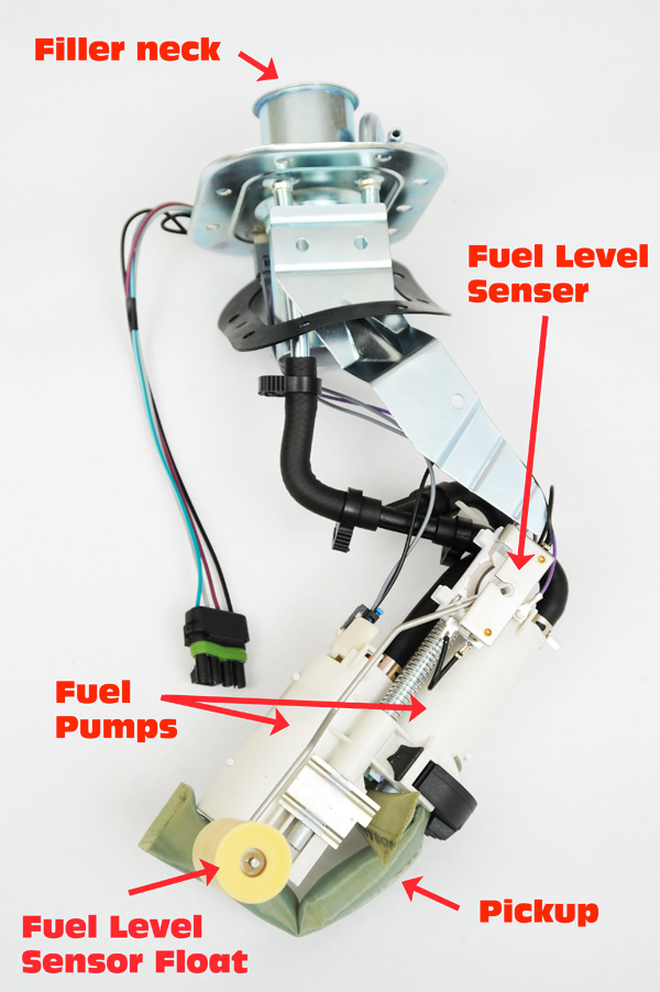 1984 1996 C4 Corvette Fuel Sending Unit Installation