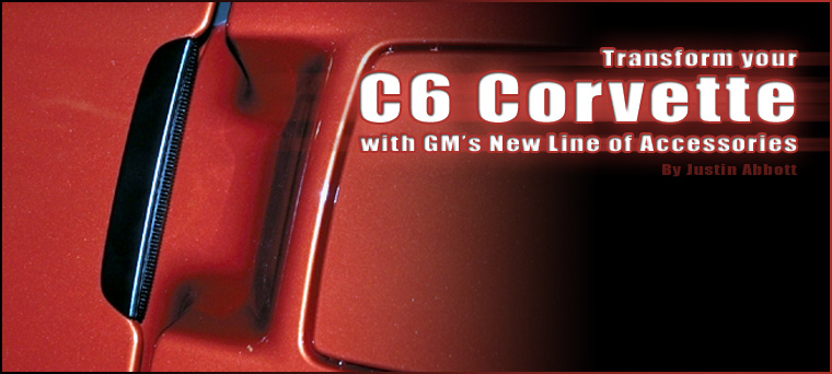 How to install C6 Corvette Exterior Accessories