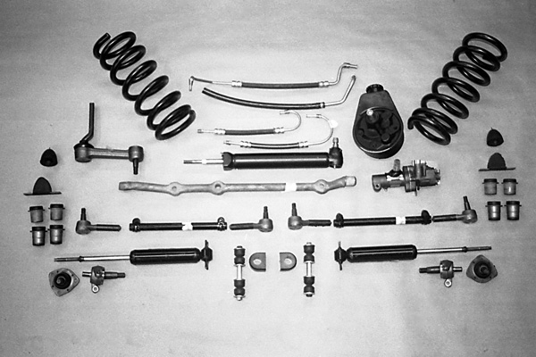 19631982 Corvette Front Suspension Rebuild Magazine. Corvette. 76 Corvette Suspension Diagram At Scoala.co