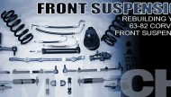 Corvette Front Suspension Rebuild