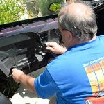installing c4 corvette Repro Door Panels 18