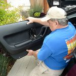 installing c4 corvette Repro Door Panels 25