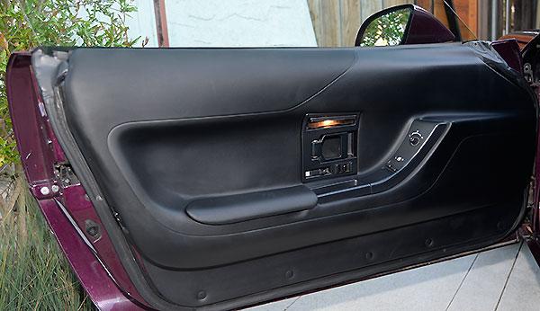 installing c4 corvette repro door panels 31
